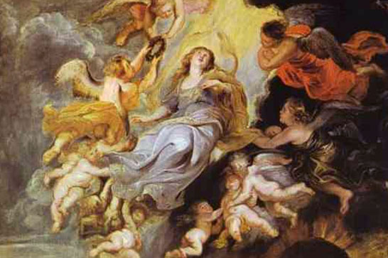 cathedral old lady rubens assumption of the virgin