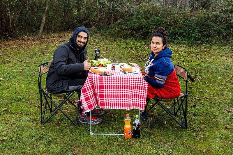erikli yaylasi cadir kampi aksam yemegi