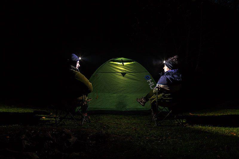 erikli yaylasi cadir kampi uzun pozlama
