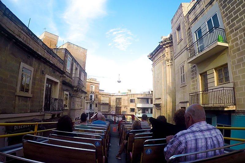 malta hoponhopoff city sightseeing sehir turu
