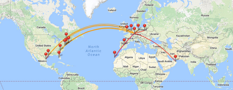 flightdiary ucus haritasi
