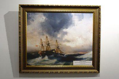 mersin deniz muzesi ertugrul firkateyni tablosu 400x266