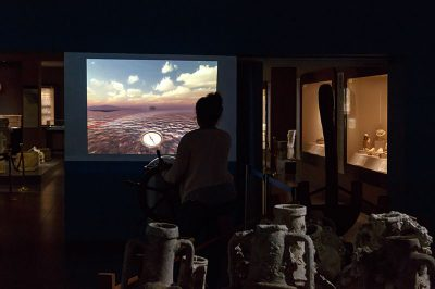 antalya alanya arkeoloji muzesi gemi simulasyonu 400x266