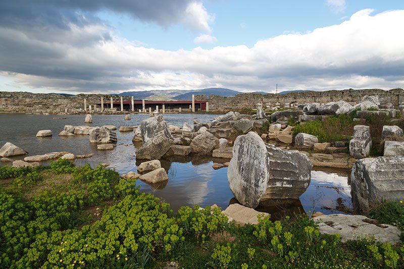 magnesia antik kenti genel gorunum