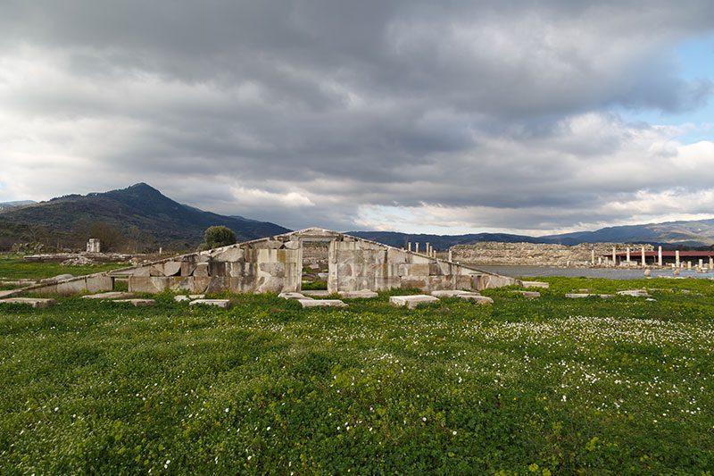 magnesia antik kenti girisi