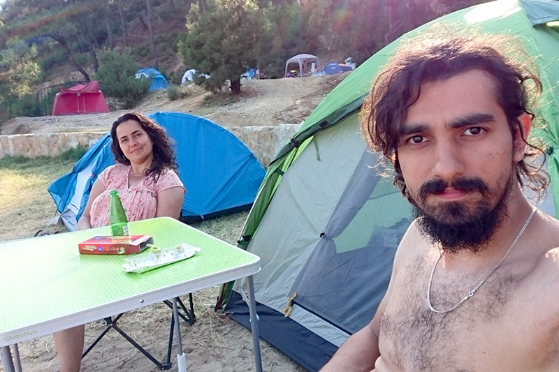 gokcetepe tabiat parki kamp alani