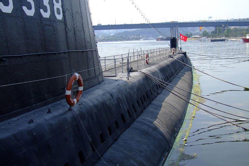 rahmi koc muzesi denizalti disi
