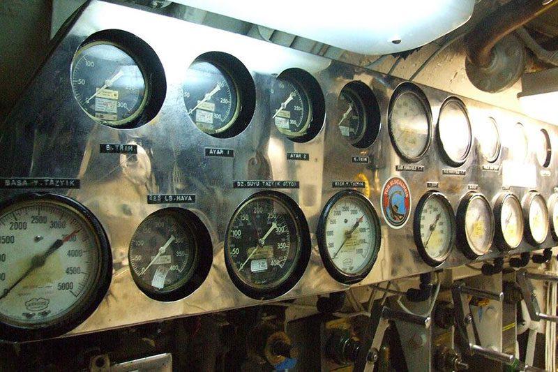 rahmi koc muzesi denizalti ekipmanlari
