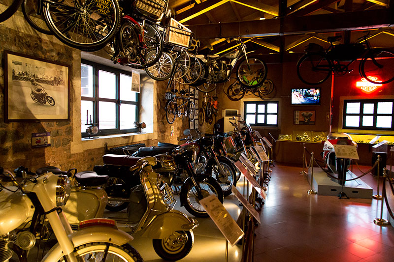 rahmi koc muzesi motorsiklet galerisi
