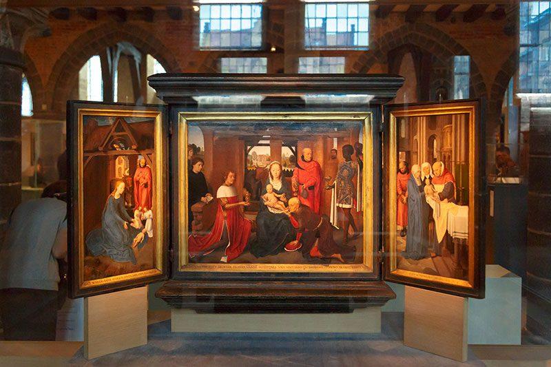 brugge st john hospital altarpiece