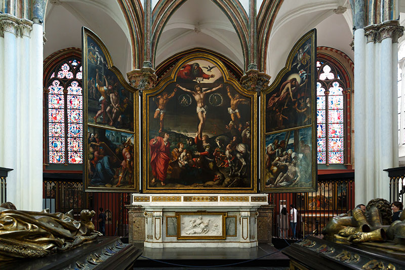 brugge the church of our lady barend van orley