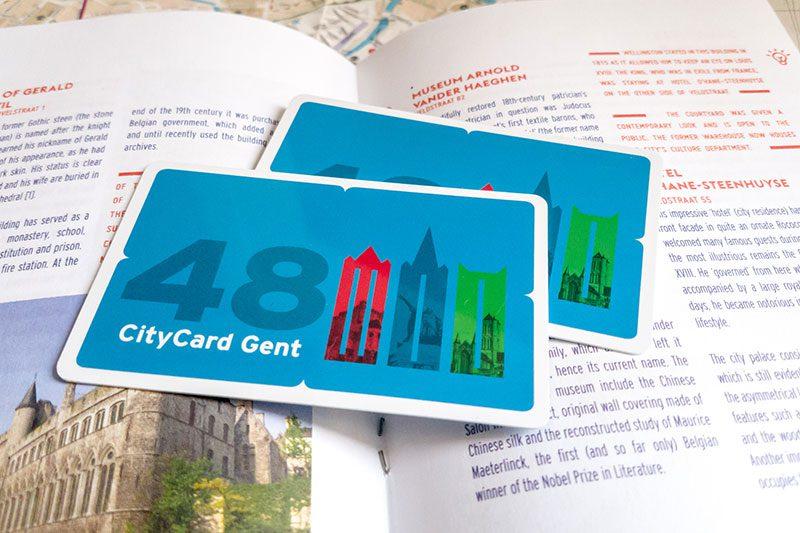 citycard gent kitapcik harita