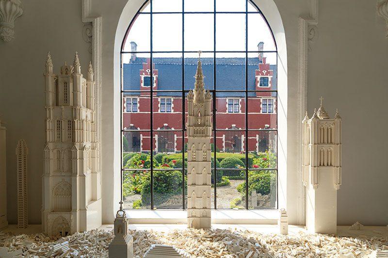 gent stadsmuseum lego oyuncak binalari