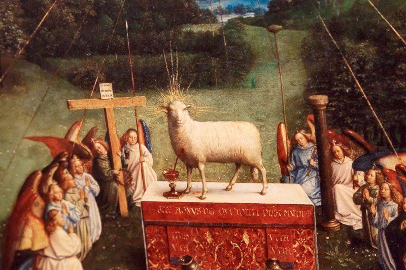 gent stadsmuseum mystic lamb altari detay