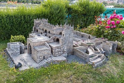istanbul miniaturk kudus sultan suleyman surlari sam kapisi 400x266
