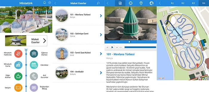 istanbul miniaturk mobil uygulamasi