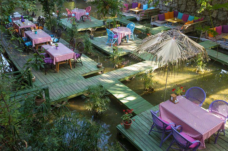 adrasan paradise cafe yemek