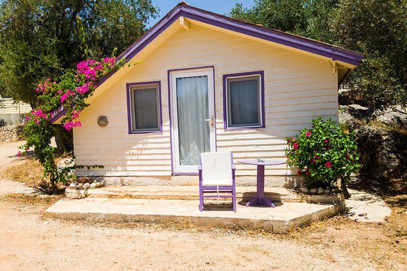 antalya kas camping evleri