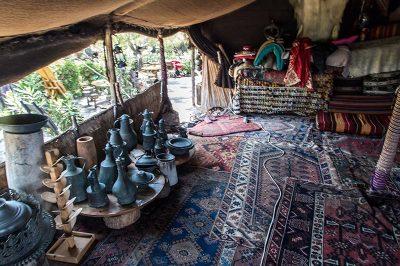 antalya kemer folklorik yoruk parki muzesi cadiri malzemeleri 400x266