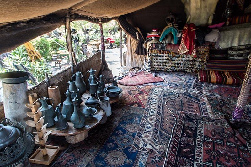 antalya kemer folklorik yoruk parki muzesi cadiri malzemeleri