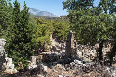antalya phaselis antik kenti gorulecek yerler 400x266