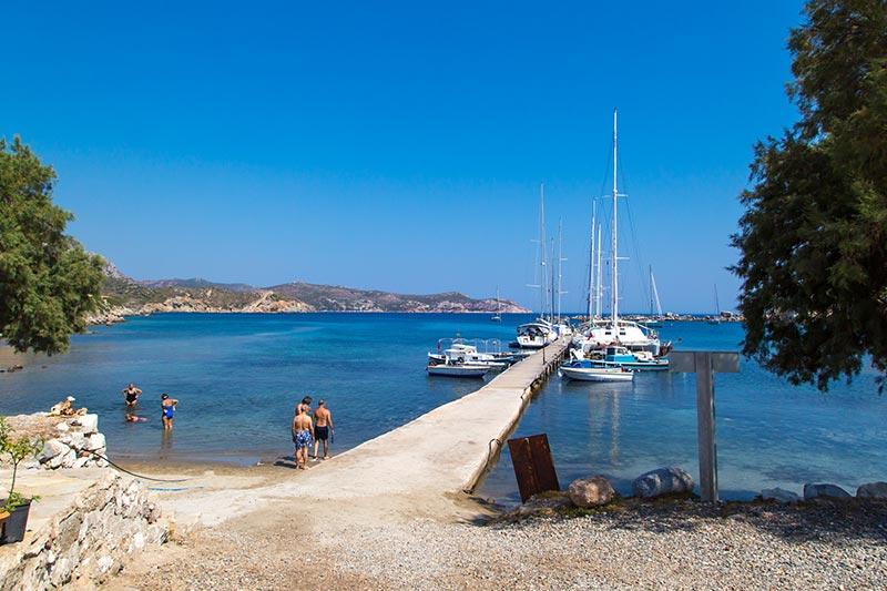 datca knidos antik kenti denize girilecek yerler