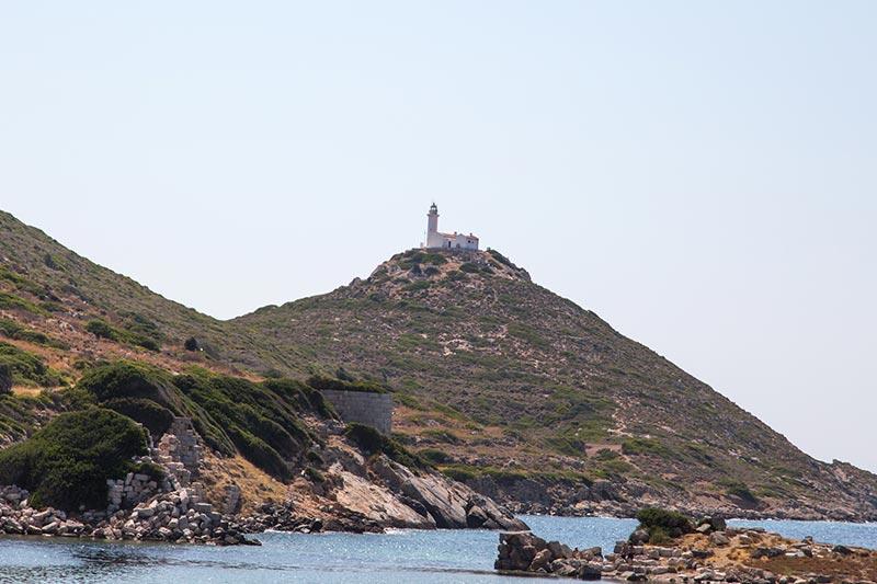 datca knidos antik kenti dereboyu deniz feneri