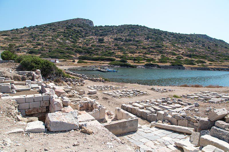 datca knidos antik kenti kuzey limani