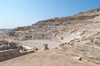 datca knidos antik kenti tiyatrosu 400x266