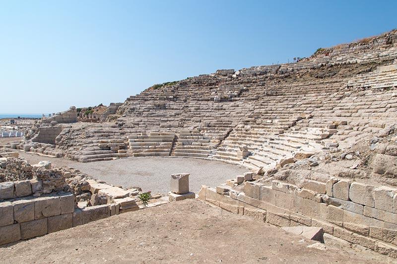 datca knidos antik kenti tiyatrosu