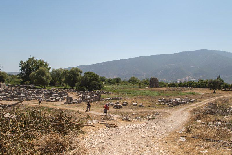 finike limyra antik kenti tarihi kalintilar