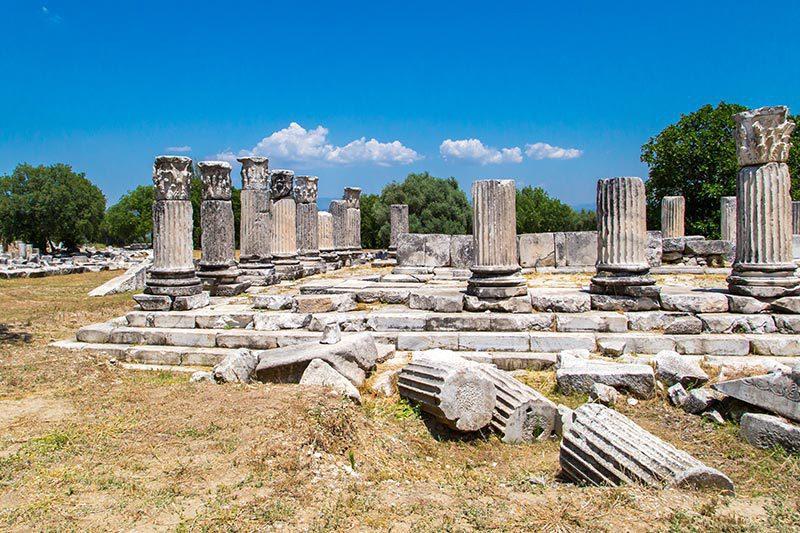 lagina hekate kutsal alani arkeoloji dini merkezi