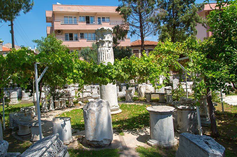 mugla milas muzesi tarihi eserleri