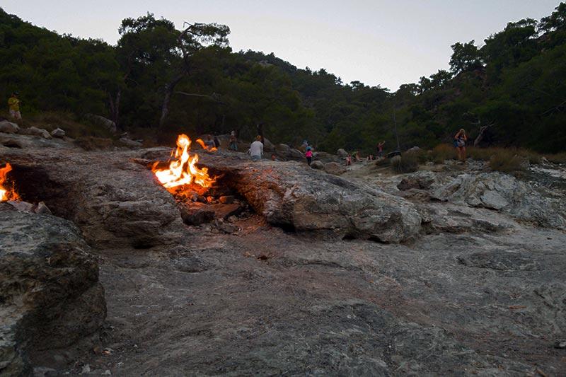 olimpos cirali yanartas gezilecek yerler
