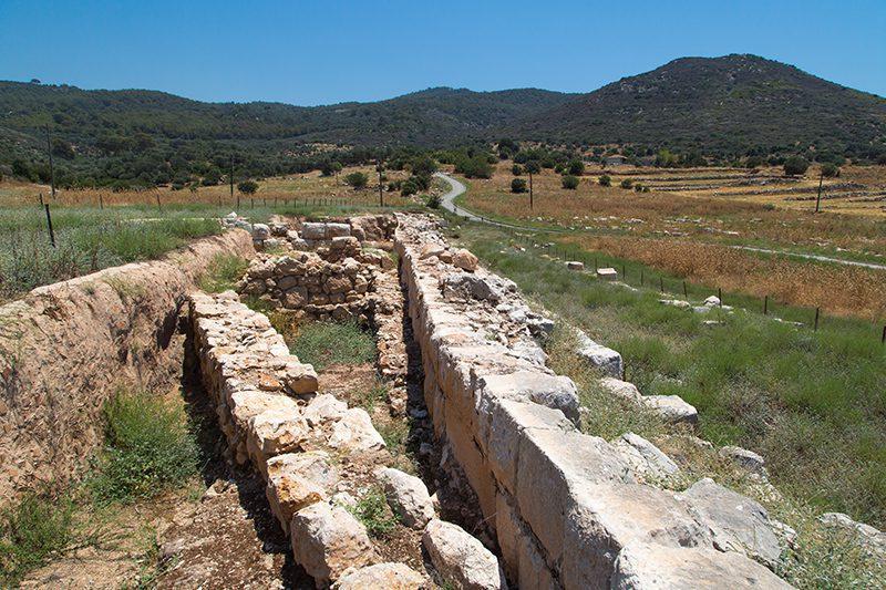 patara antik kenti kalintilari