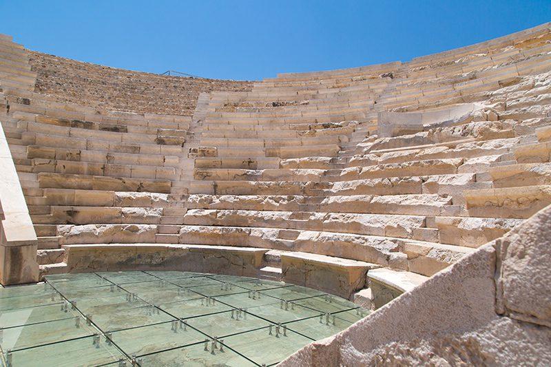 patara antik kenti likya meclis binasi odeon
