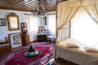 aydin yenipazar yoruk ali eve muzesi yatak odasi 400x266