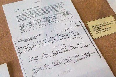 aydin yenipazar yoruk ali eve muzesi yazisma belgeleri 400x266