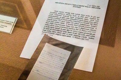 aydin yenipazar yoruk ali eve muzesi yazismalari 400x266
