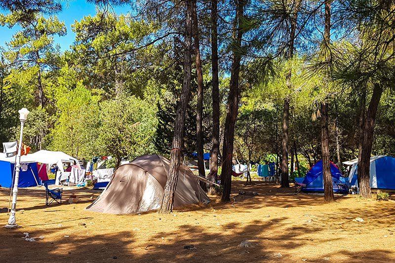 mugla akyaka orman kampi alanlari