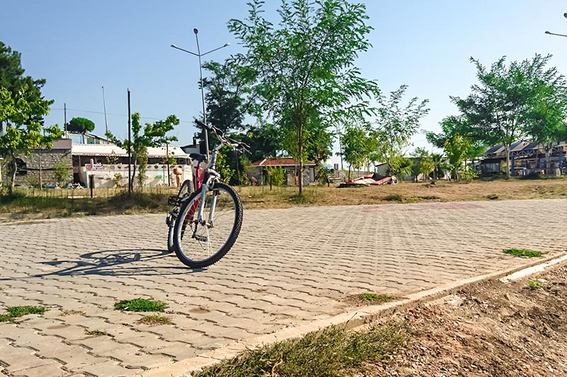 gerze bisiklet surme yolu