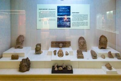 sinop arkeoloji muzesi serapis mabedi eserleri 400x266
