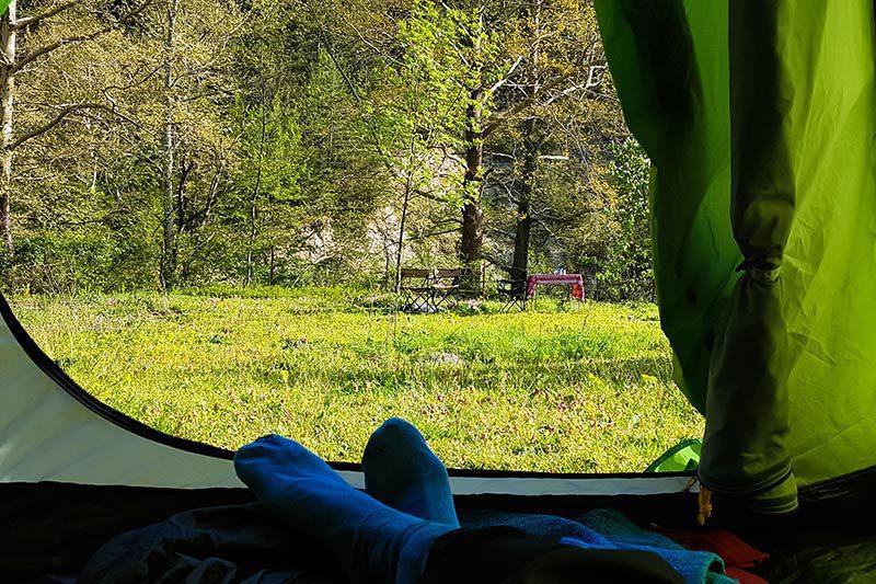 duzce simsirlik kamp alani cadir yeri