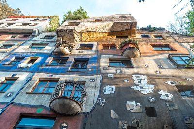 viyana hundertwasser house gorulecek yerler 400x266