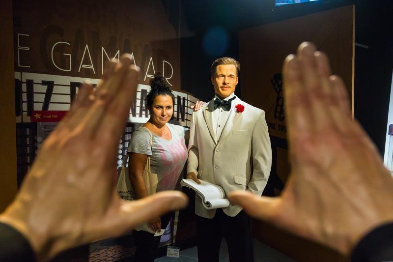viyana madame tussauds muzesi brad pitt filmleri