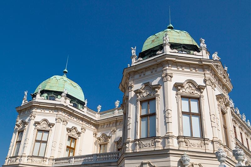 belvedere sarayi viyana dis mimarisi