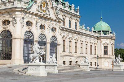 belvedere sarayi viyana mimarisi gezilecek yerler 400x266