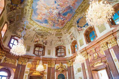 viyana belvedere sarayi duvar freskleri sanati 400x266