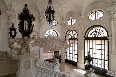 viyana belvedere sarayi girisi barok mimari 400x266