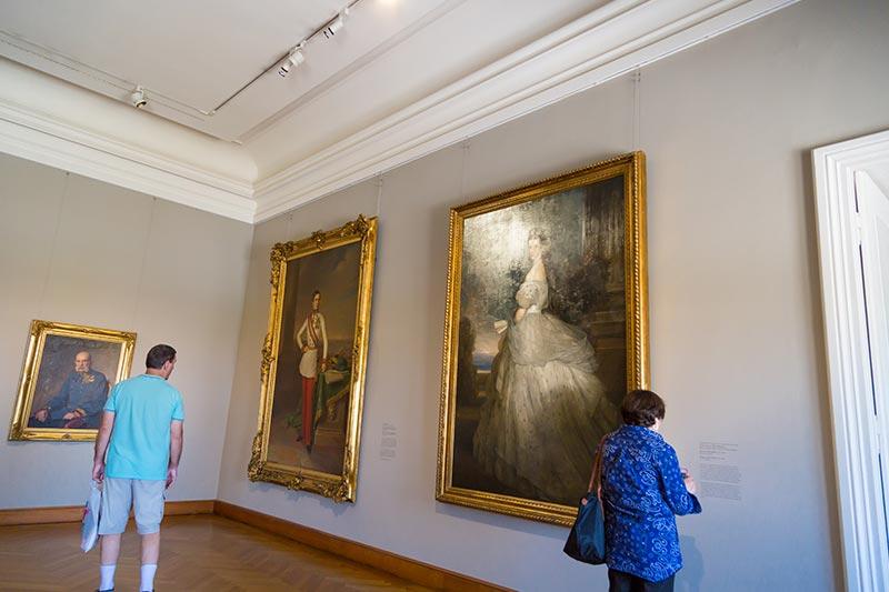 viyana belvedere sarayi sanat eserleri tablolari